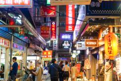 Ximending, Taipei in Taiwan